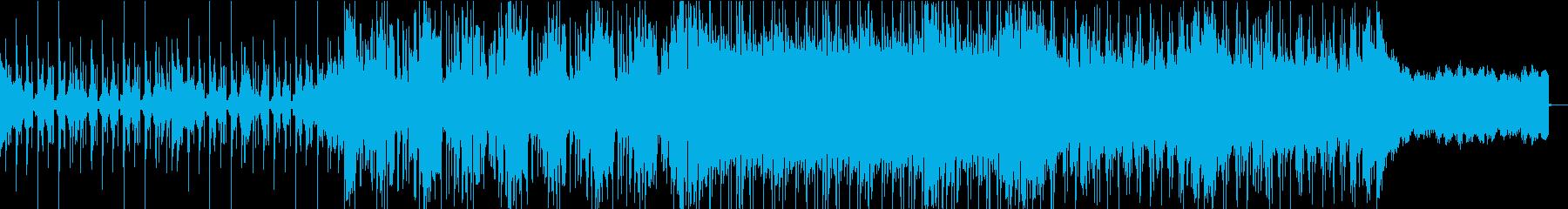 スローテンポで壮大なEDM・サイケの再生済みの波形