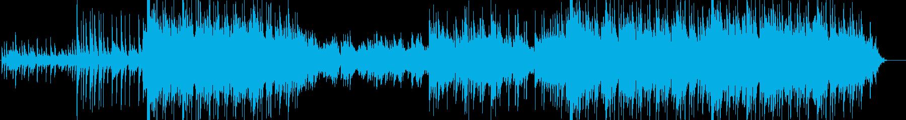 旅立ちをイメージした感動的なBGMの再生済みの波形