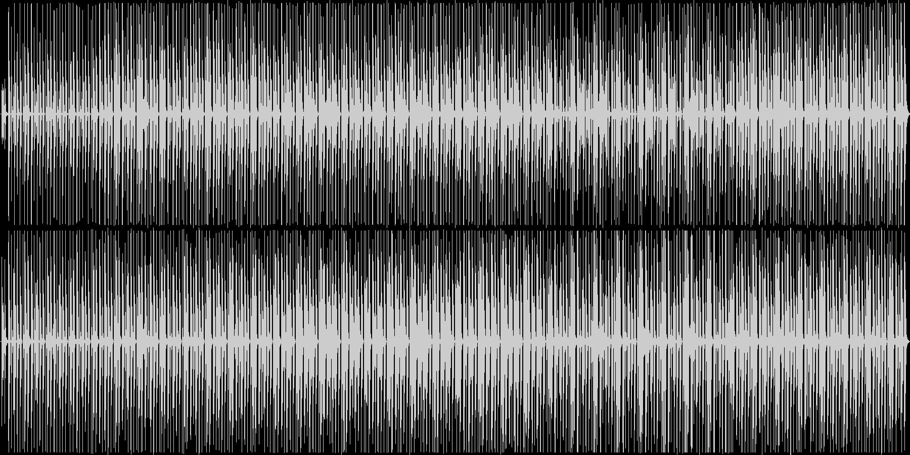 楽しい生音エレクトロニカ風[ループ仕様]の未再生の波形