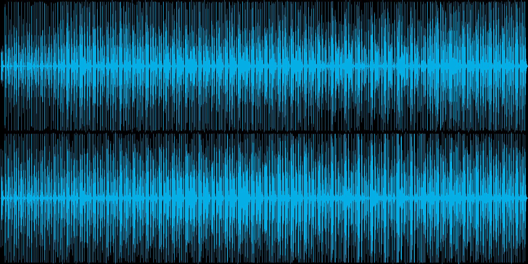 楽しい生音エレクトロニカ風[ループ仕様]の再生済みの波形