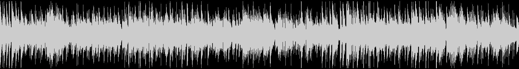 爽やか切ないボサノバ・サックス※ループ版の未再生の波形