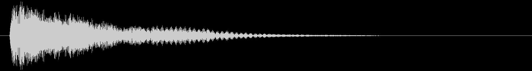 映画告知音94 ドーンの未再生の波形