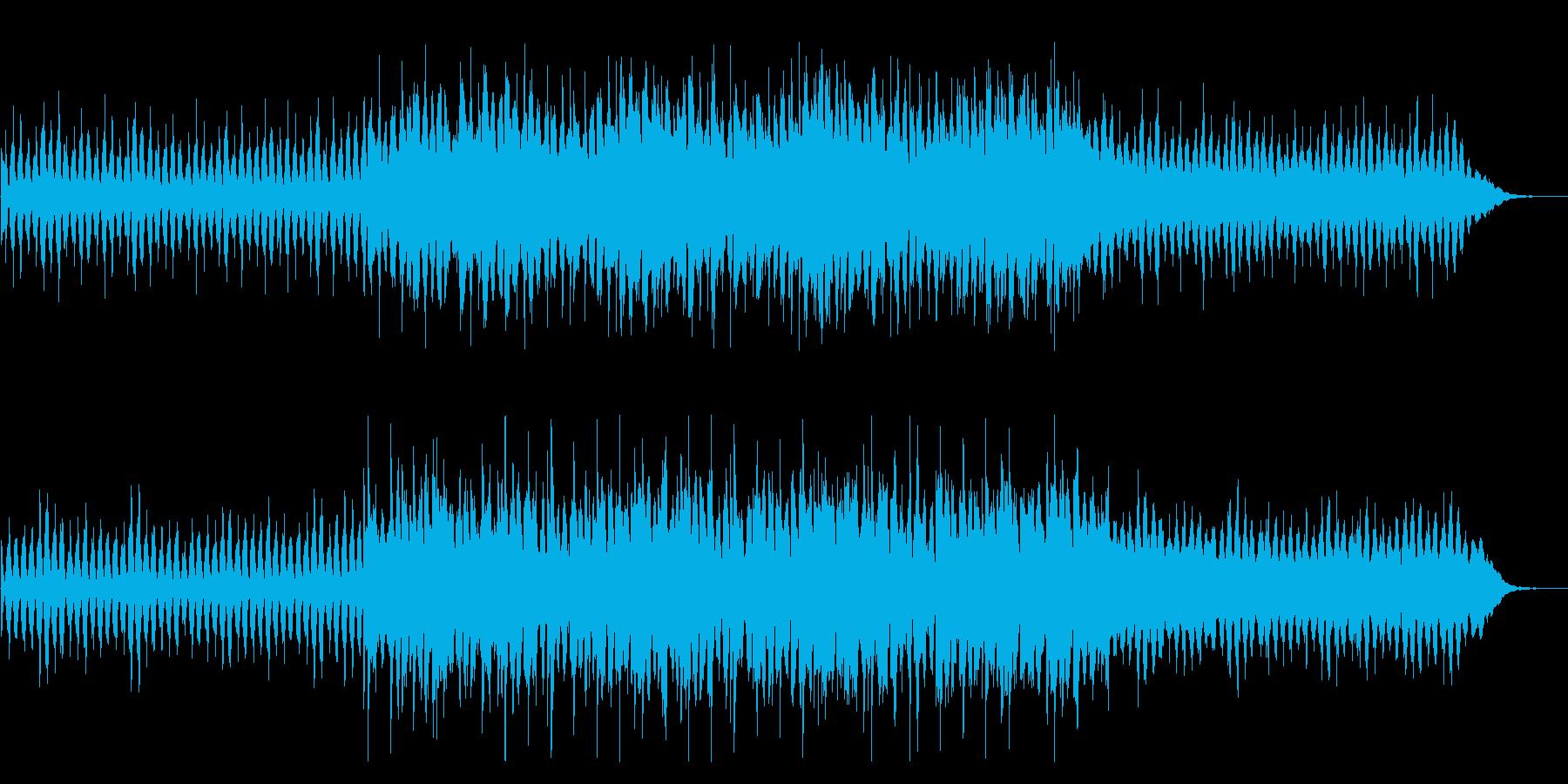 可愛らしい綺麗なピアノ曲の再生済みの波形