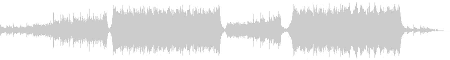 トレーラーの未再生の波形