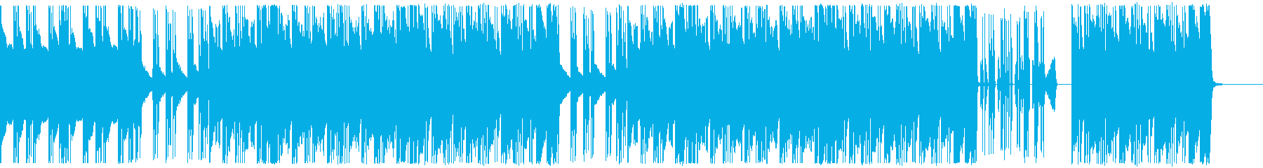 ヒップホップ/超重バス/トラップ#1の再生済みの波形