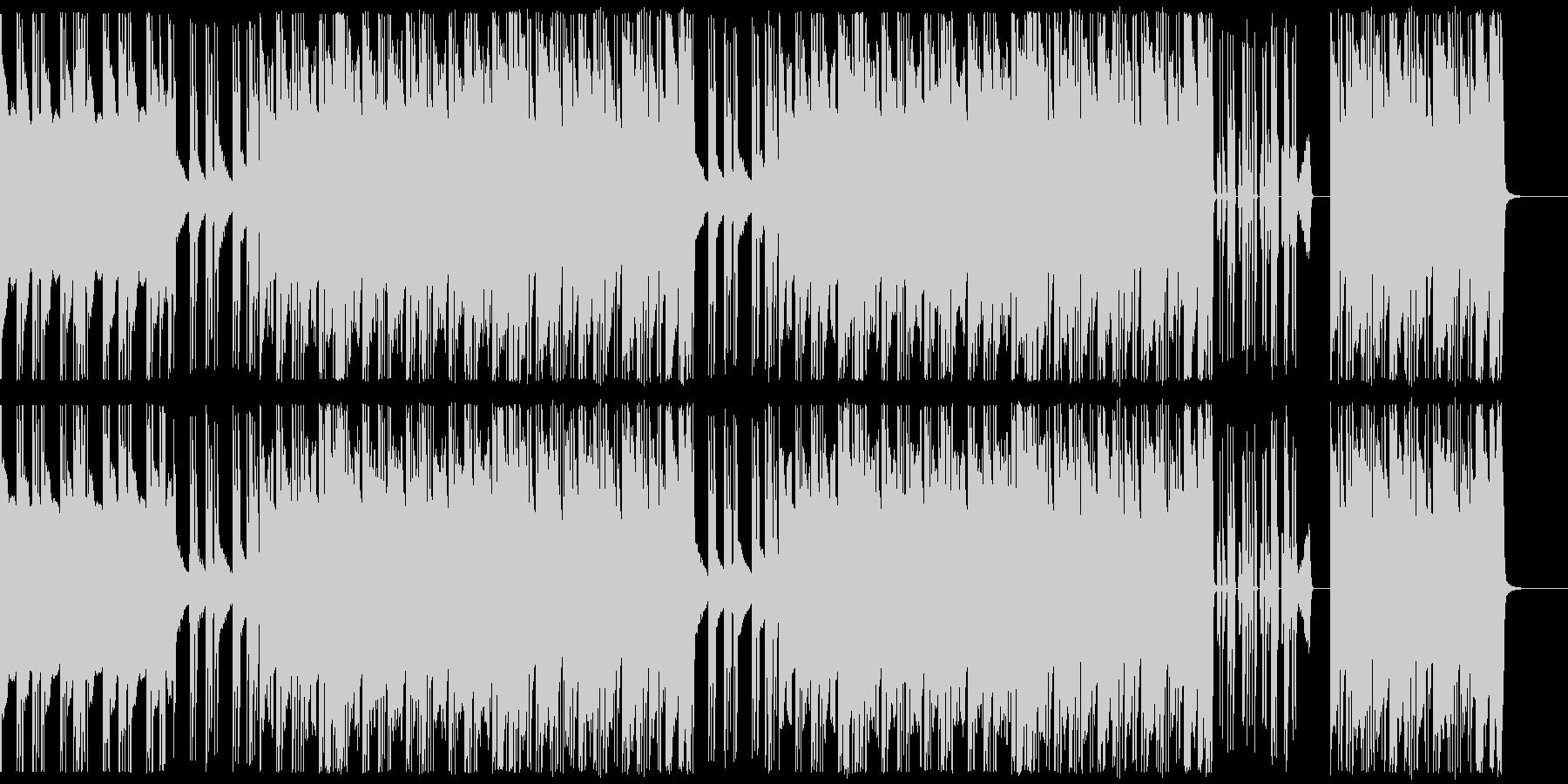 ヒップホップ/超重バス/トラップ#1の未再生の波形