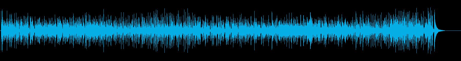 定番クリスマスソングをクラシックギターでの再生済みの波形