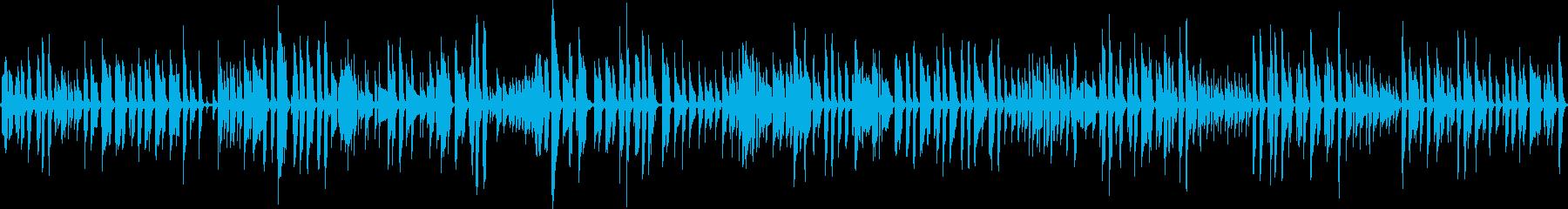サラサラ ジャズ ビンテージ 木製ギターの再生済みの波形