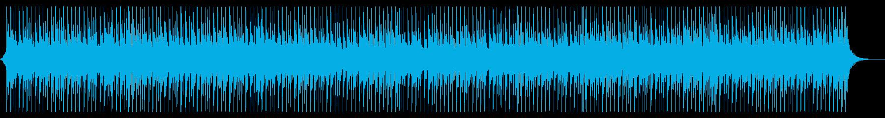 さわやかで軽快なBGMの再生済みの波形