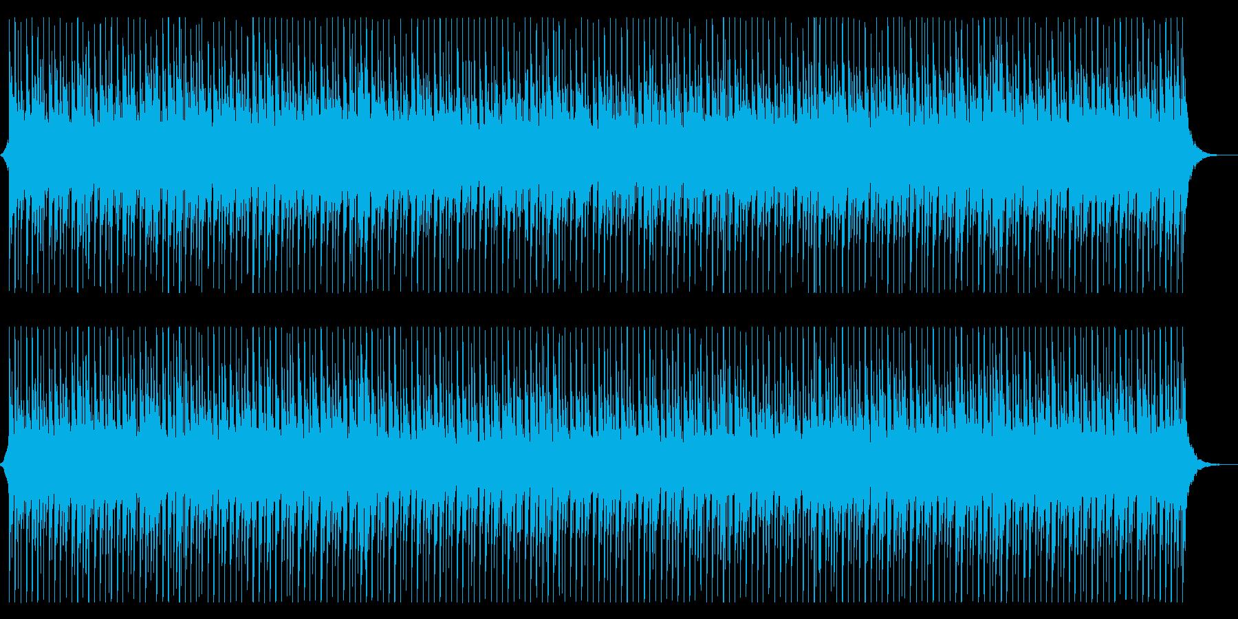 爽やか、軽快、ポジティブなテクノポップの再生済みの波形