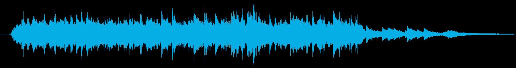 クリスマス・明るいオーケストラ30秒の再生済みの波形
