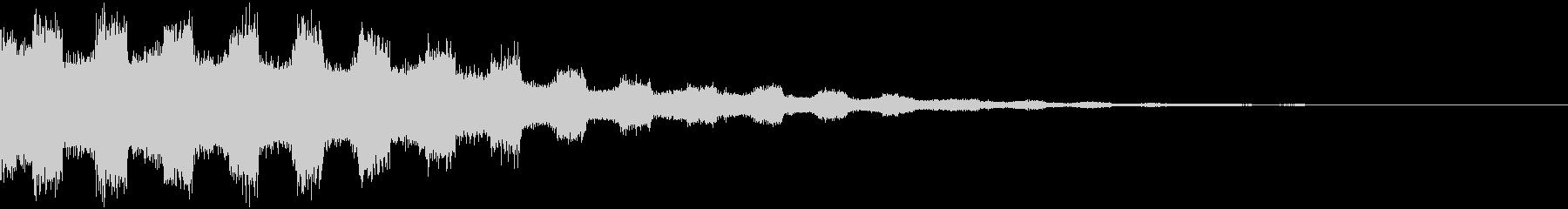 【音楽制作用】ノイズ FXの未再生の波形