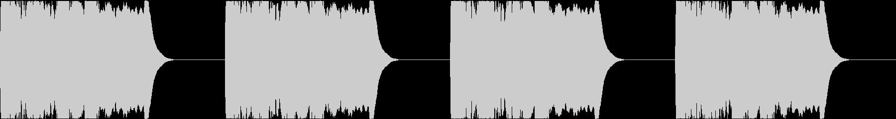 サイレン siren 警報 アラート 4の未再生の波形