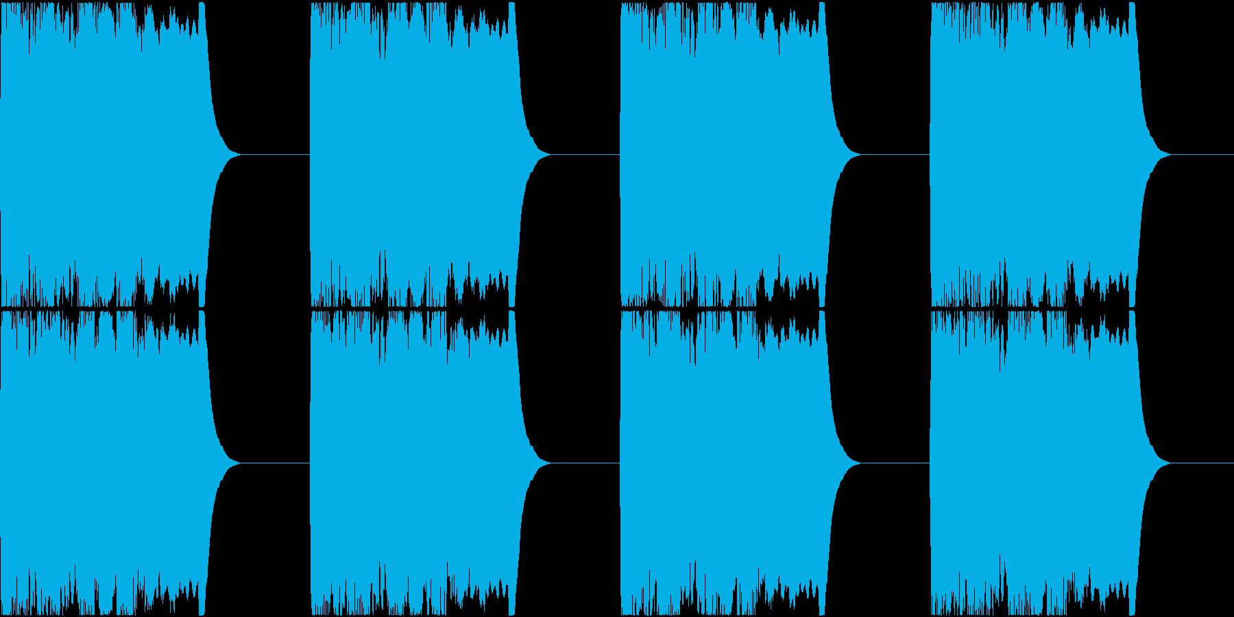 サイレン siren 警報 アラート 4の再生済みの波形