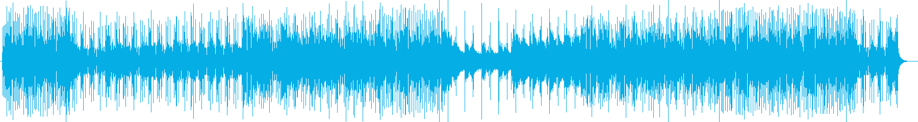 キラキラハッピーなシンセサウンドの再生済みの波形