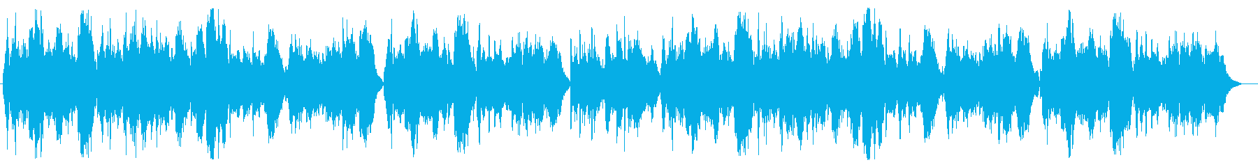 チェロとピアノの抒情的な挿入歌の再生済みの波形