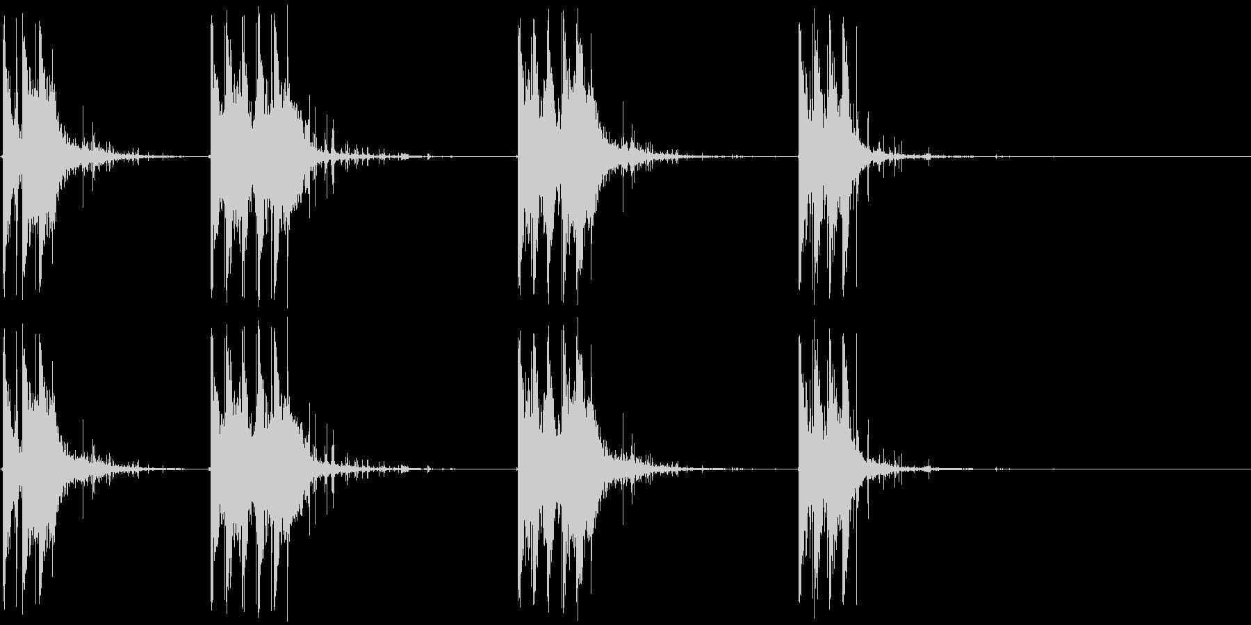 弾丸リコシェット、ダート、マシンガ...の未再生の波形
