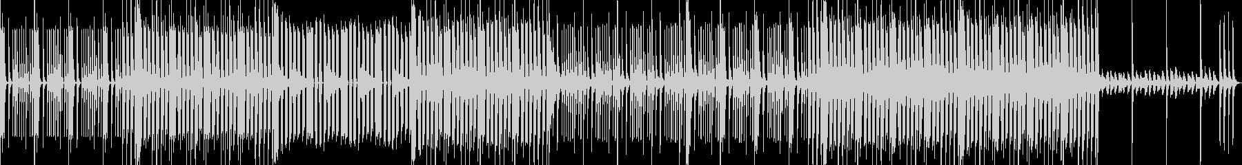 ファンキーでおちゃらけたBGMの未再生の波形