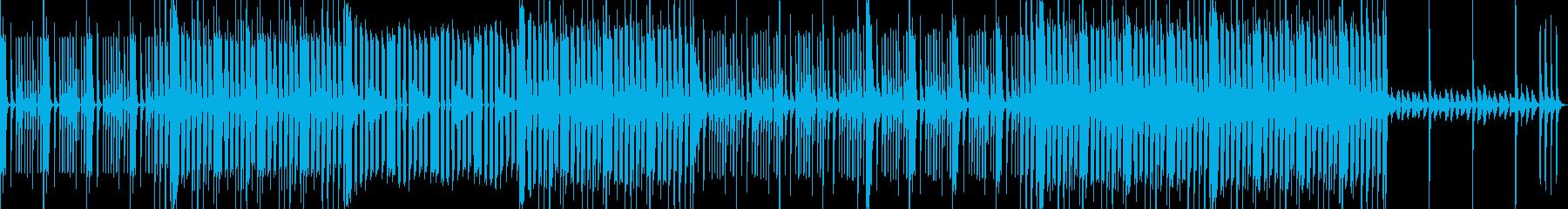 ファンキーでおちゃらけたBGMの再生済みの波形