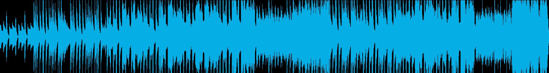 ほのぼのとした可愛い日常系音楽の再生済みの波形