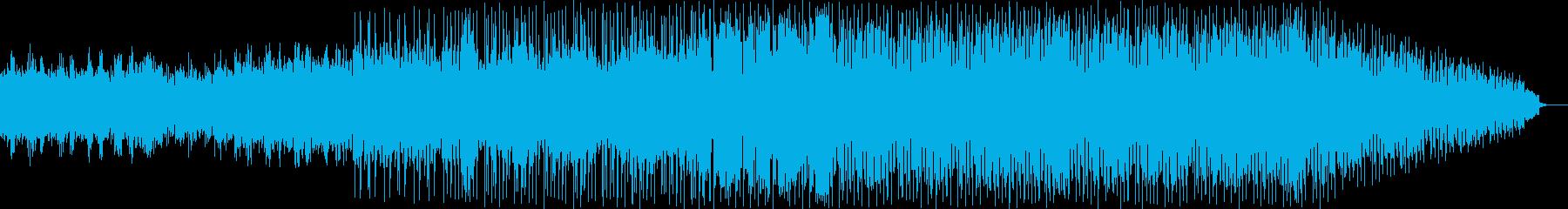 さわやか明るいBGM用の再生済みの波形