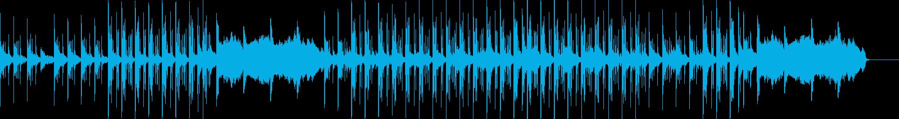 Jazzyなピアノとミニマルなリズムの再生済みの波形