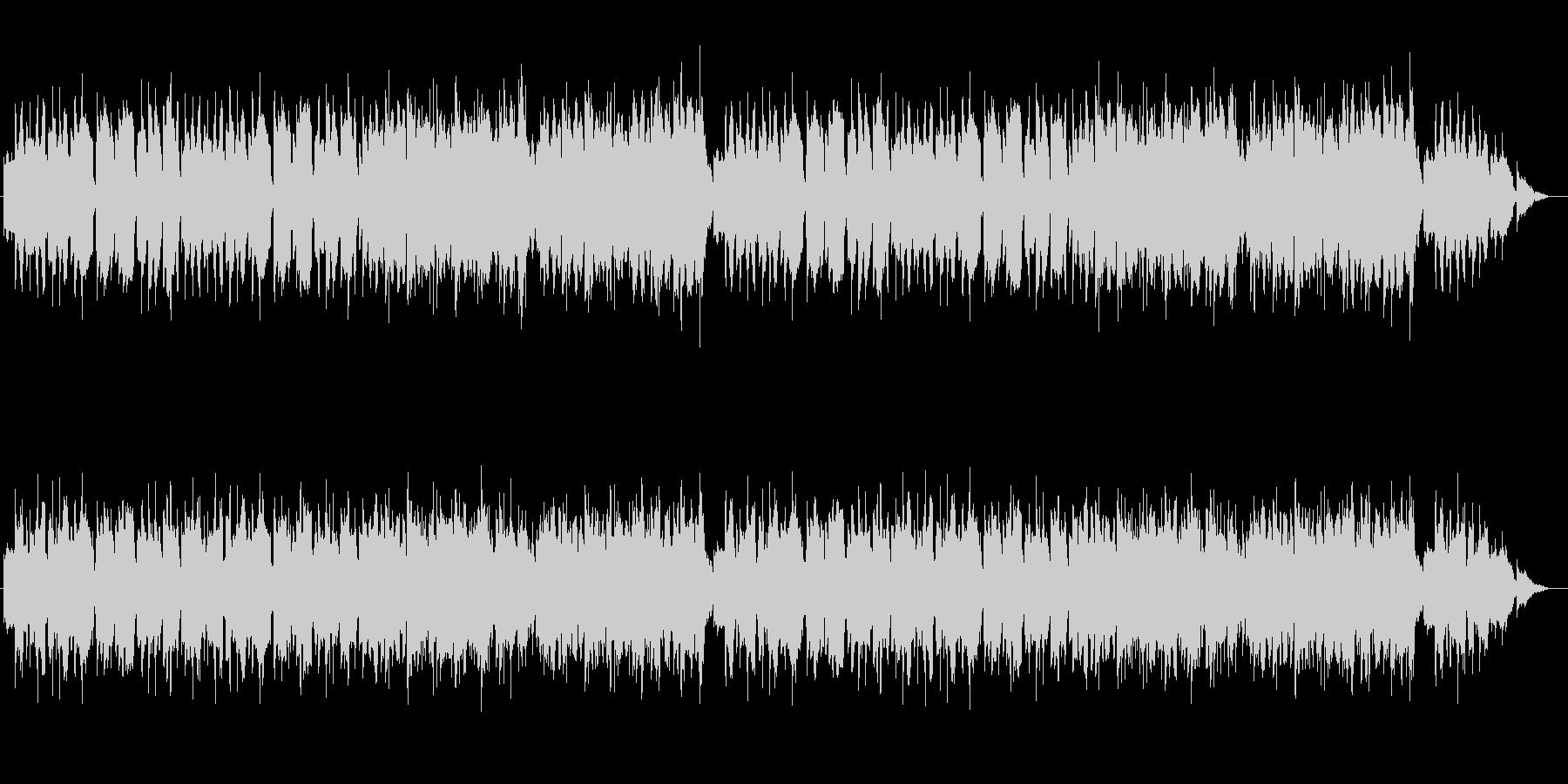 RPGの最初の村 牧歌的な音楽の未再生の波形