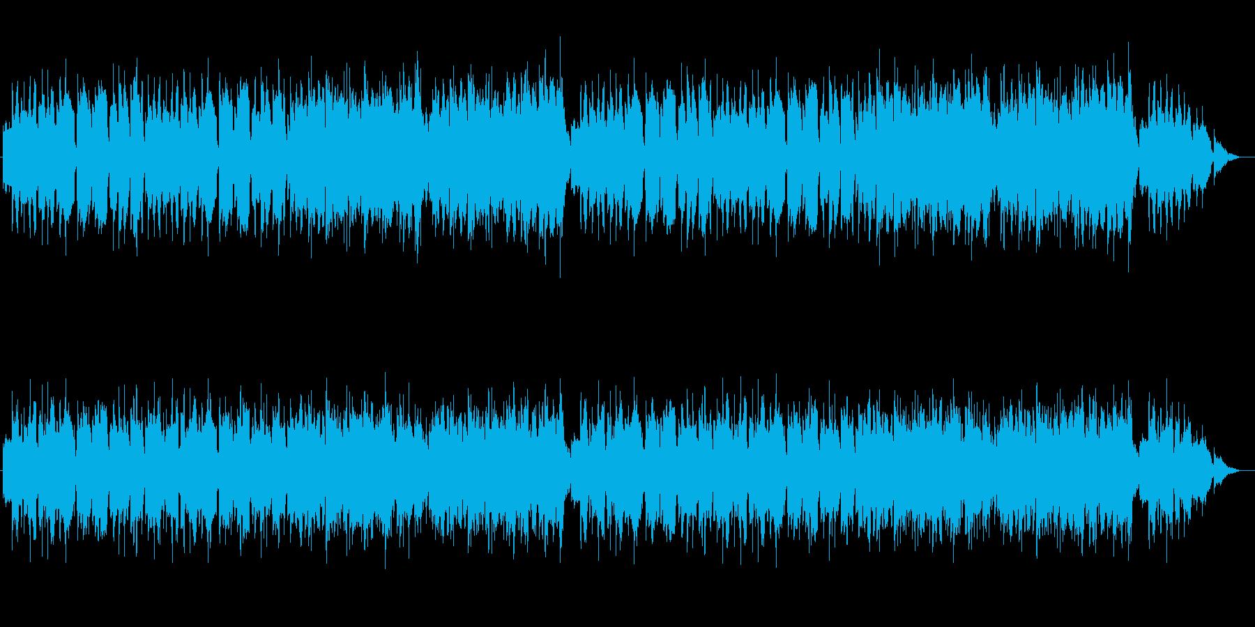 RPGの最初の村 牧歌的な音楽の再生済みの波形