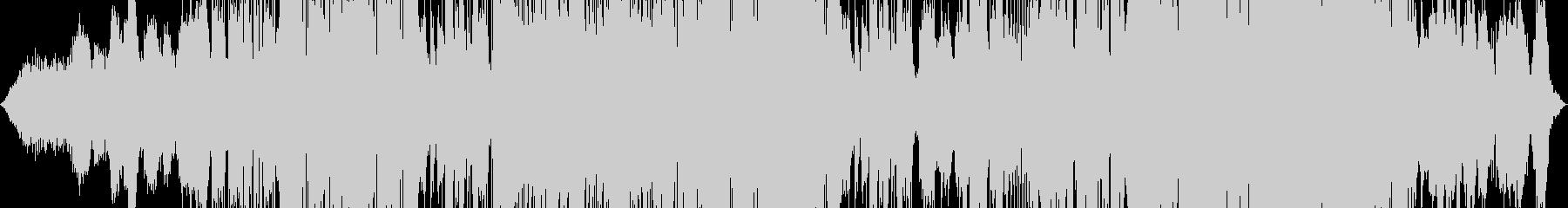 幻想的ドラマチックなエレクトロポップの未再生の波形