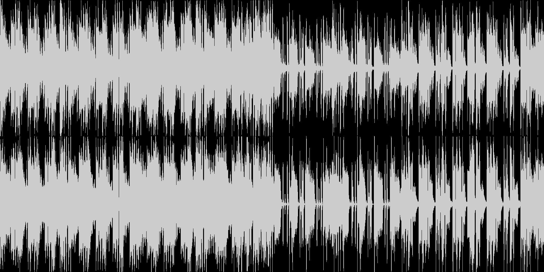 【1分】アコギのアルペジオの切ないBGMの未再生の波形