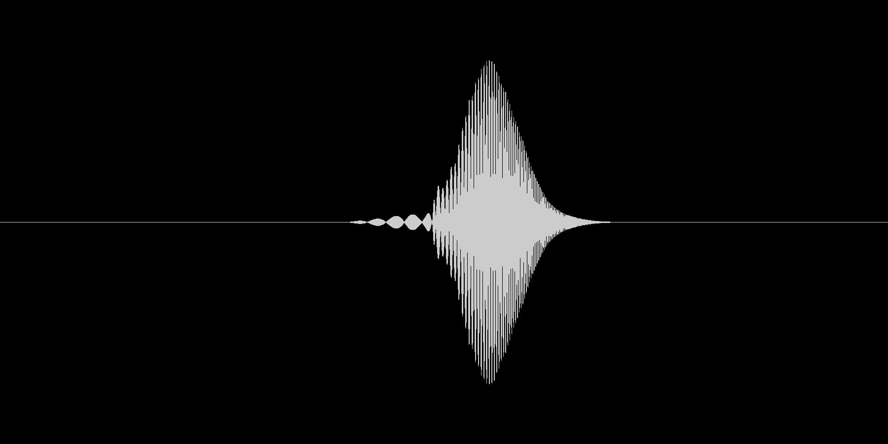プクッ(水面の泡・空気) の未再生の波形