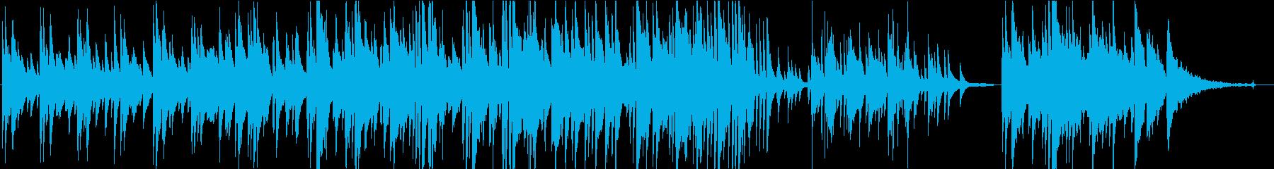 カントリー調バラード【ピアノver.】の再生済みの波形