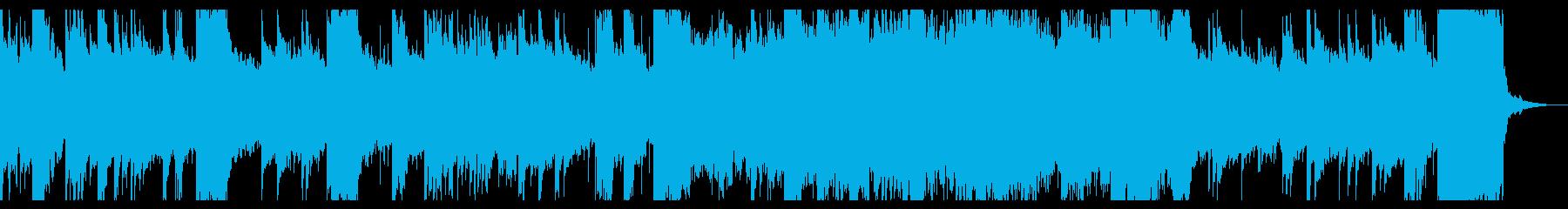 ハープの音色が心地よいアンビエントの再生済みの波形