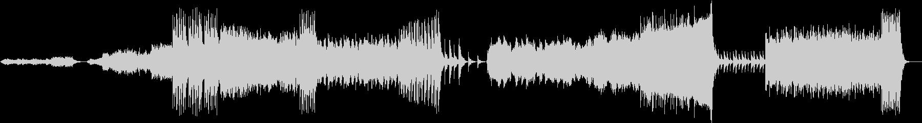 雄大な自然を管弦楽とコーラス系で表現の未再生の波形