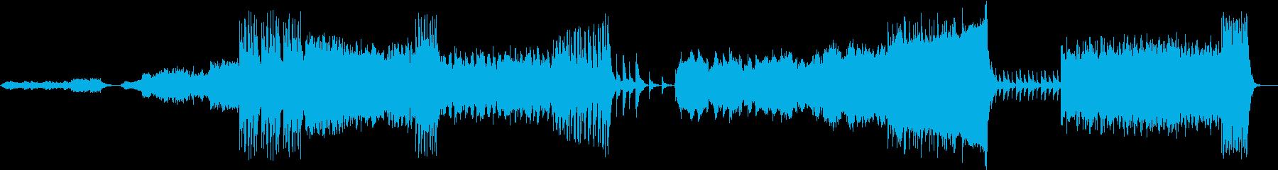 雄大な自然を管弦楽とコーラス系で表現の再生済みの波形