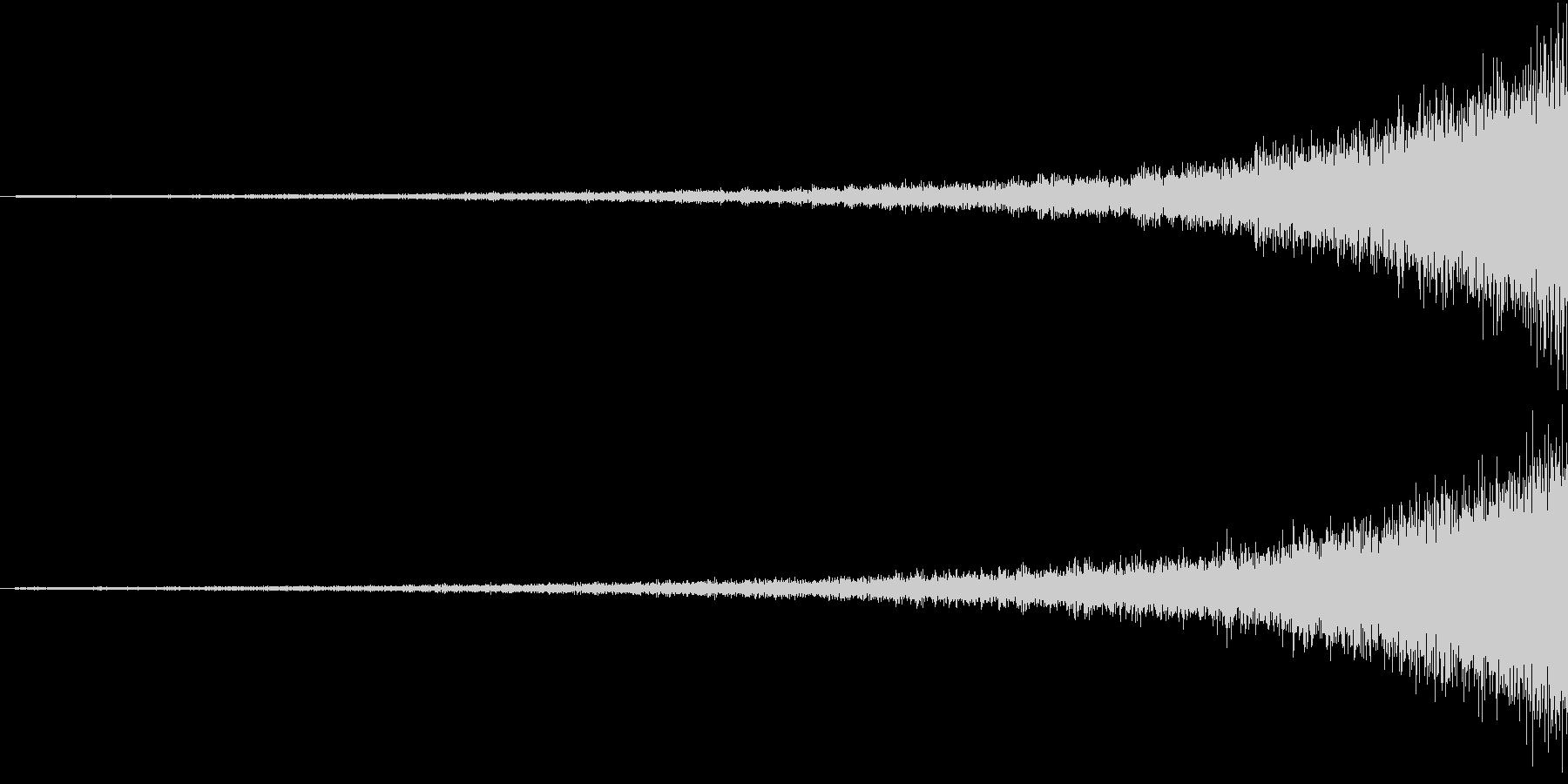Shining 映像用リバースエフェクトの未再生の波形
