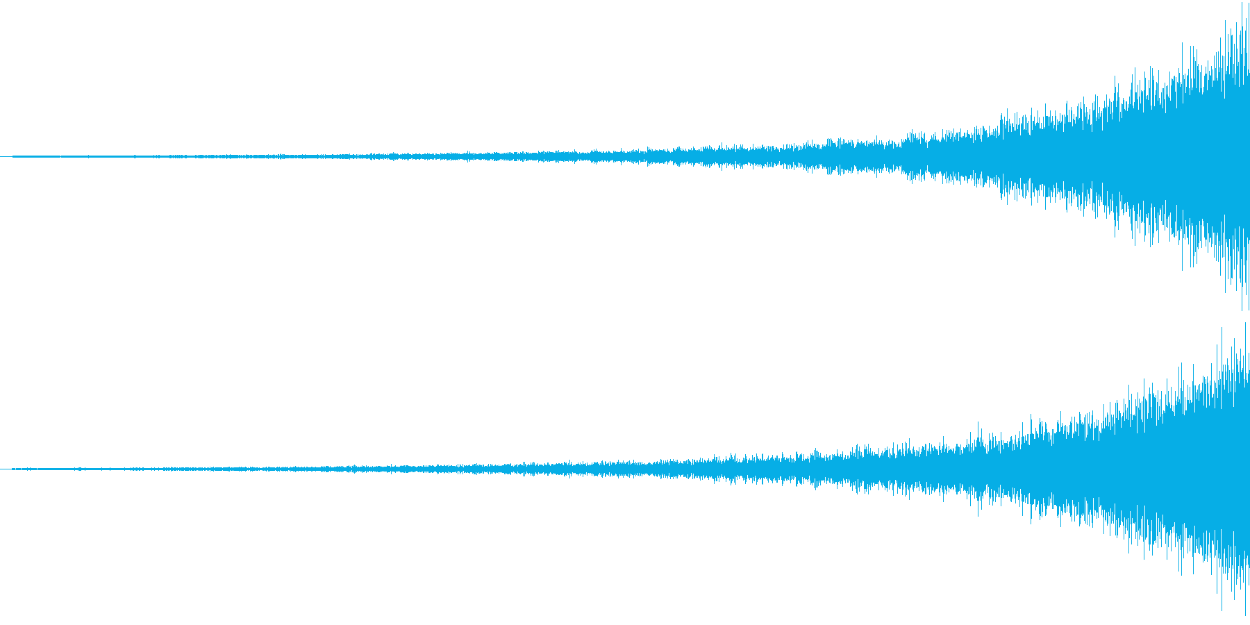 Shining 映像用リバースエフェクトの再生済みの波形