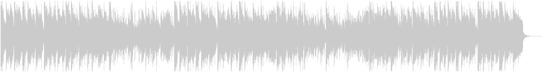 フレッシュなドラムンベース×生音系ジャズの未再生の波形