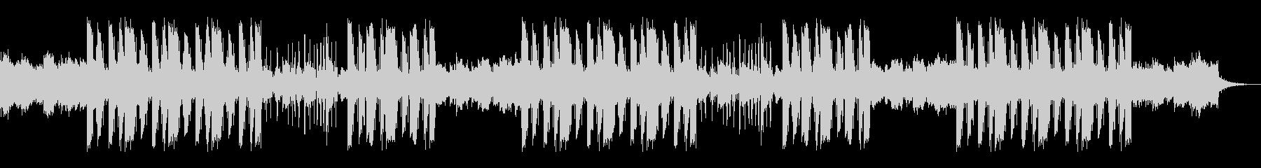 ギターのアルペジオが印象的なトラップの未再生の波形