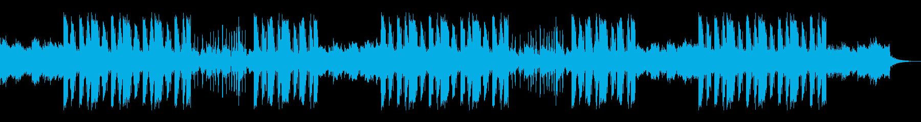 ギターのアルペジオが印象的なトラップの再生済みの波形