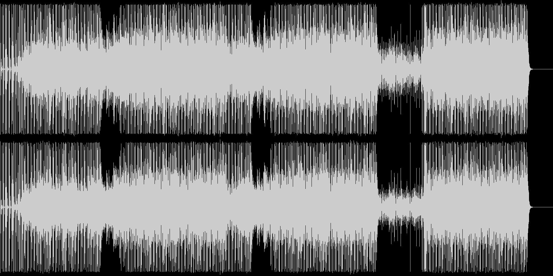 ピアノヒップホップ/ダーク/ビート/#1の未再生の波形