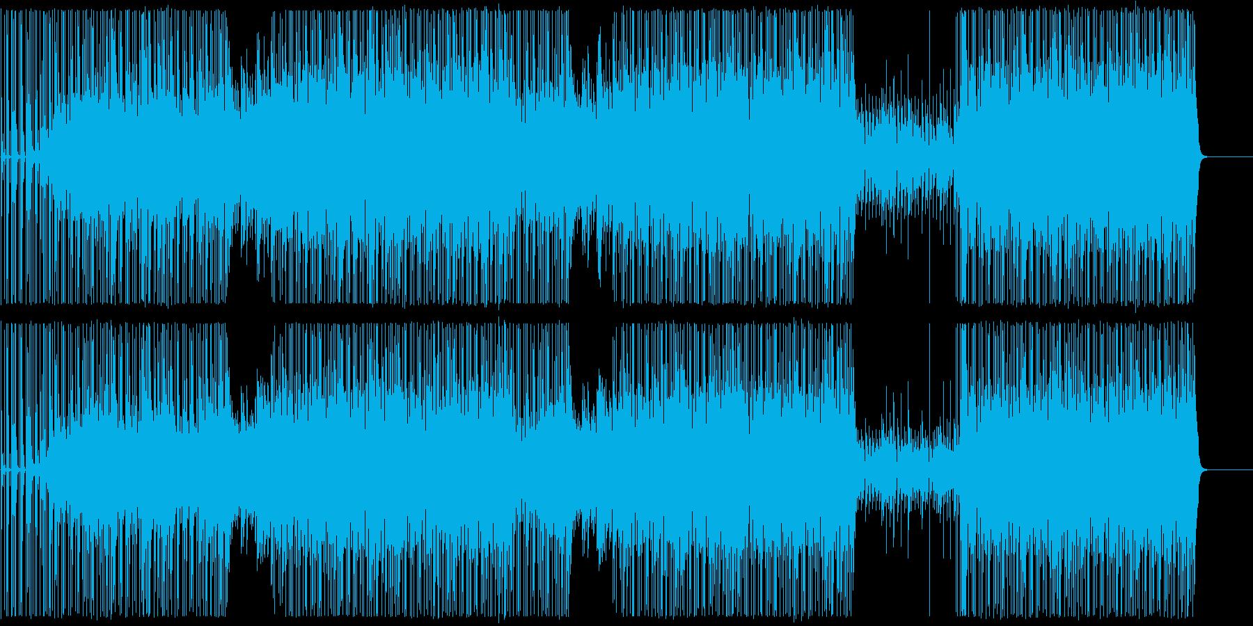 ピアノヒップホップ/ダーク/ビート/#1の再生済みの波形