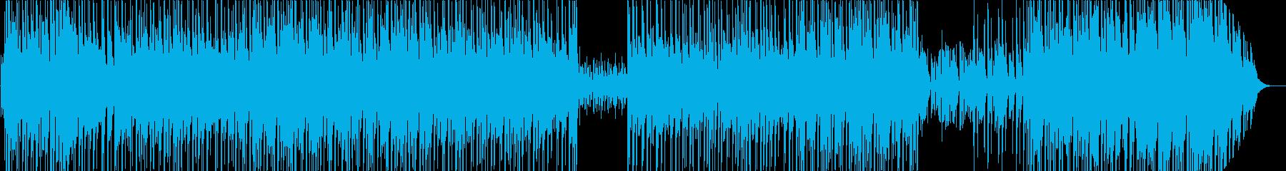 懐かしくて熱気のあるディスコスタイルの音の再生済みの波形