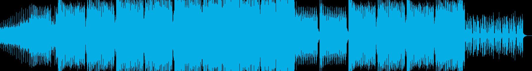 クールでお洒落な雰囲気のEDMの再生済みの波形
