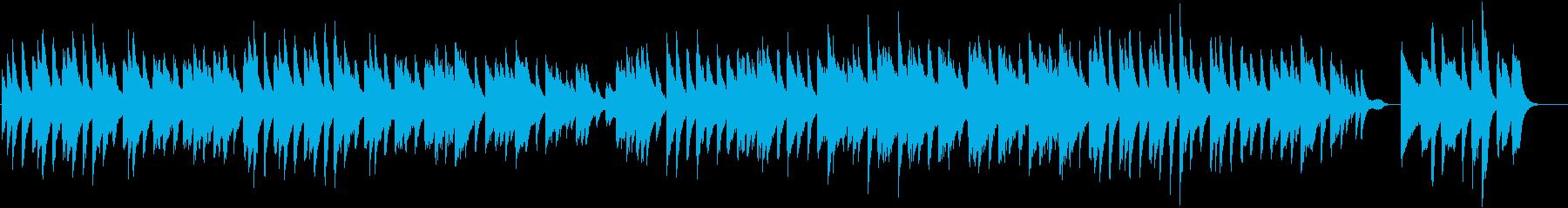 のどかで可愛いらしい春ワルツピアノBGMの再生済みの波形