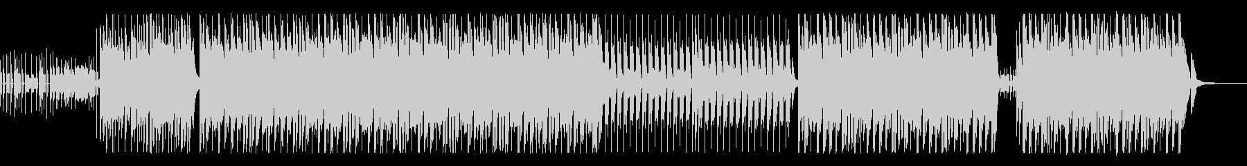 軽快なピアノが印象的なEDMの未再生の波形