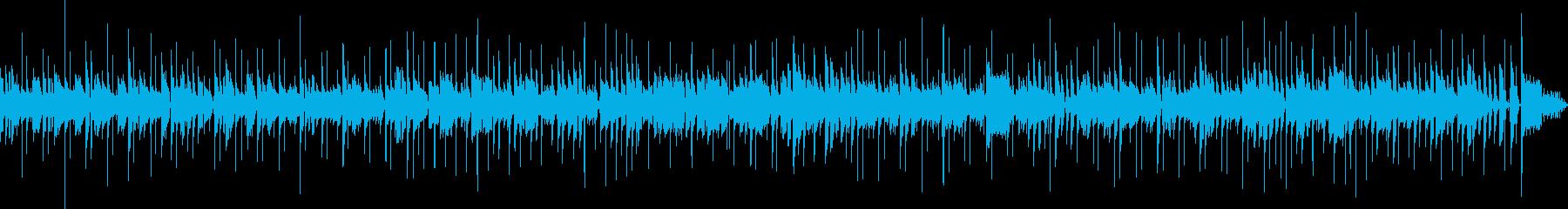 生演奏 動物ほのぼの系ぽかぽか陽気の再生済みの波形