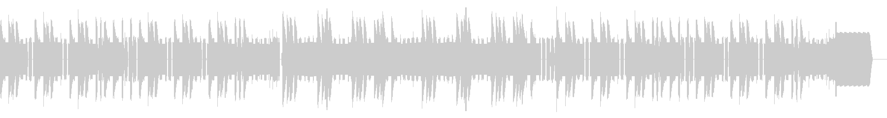 明るいファミコン初期のタイトル画面の未再生の波形