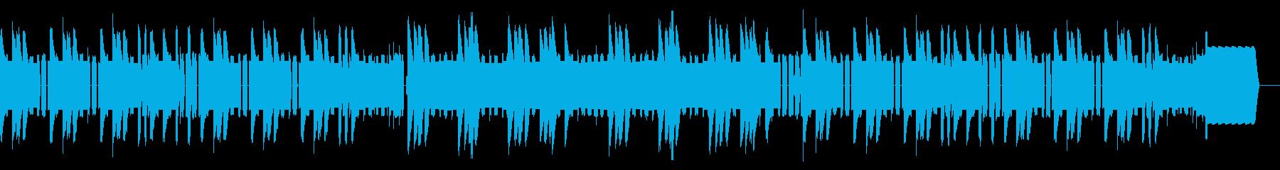 明るいファミコン初期のタイトル画面の再生済みの波形