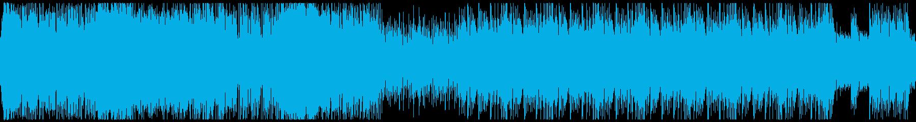 ループ 迫力あるメタルSF・戦闘/バトルの再生済みの波形